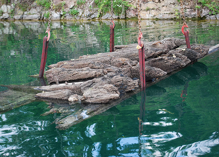 "The 16th-century ""Gresham Ship"" was finally laid to rest at Stoney Cove. The remains represent that most exciting period of Elizabethan seafaring, exploration and adventure, the age of Drake, Frobisher, Seymour and Hawkins."