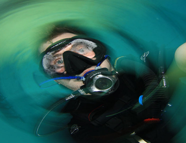 Photograpers Name: Daryl ParkerName of the photograph: Vortex Selfie