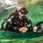 Sidemount Diver